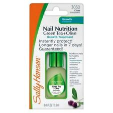 Sally Hansen Nail Nutrition Green Tea + Olive Growth Treatment 3050 Clear - New