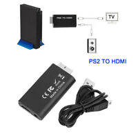 2x PS2 PS//2 Male to USB A Femael Jack Keyboard Mouse PC Adapter PlugConverter JH