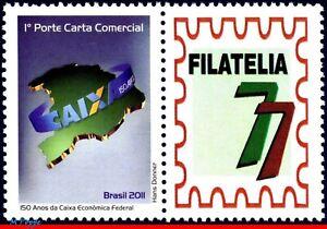 3161 BRAZIL 2011 FEDERAL ECONOMIC CASH, 150 YEARS, RHM C-3079, MNH