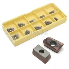 10pcs APKT11T308-PM With Box For Carbide Tungsten Steel Milling Inserts Tool