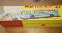 Original DInky Meccano Supertoys 953 Continental Touring Coach & Original Box