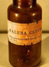 Vintage Antique Galena Crystal for Crystal Radios - Mallinckrodt 1 Lb unopened!