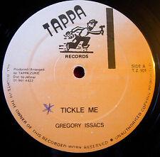 "Gregory Isaacs Tickle Me 12"" Lovers Tappa Zukie b/w Sly & Robbie Version VINYL"