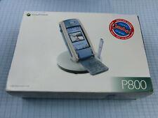 Sony Ericsson P800 Electric Blue! Gebraucht! Ohne Simlock! TOP ZUSTAND!