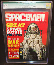 Spacemen #2 - War of the Worlds and Lost World - CGC Qualified Grade 5.5 - 1961
