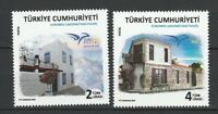 Turkey 2018 Houses 2 MNH stamps