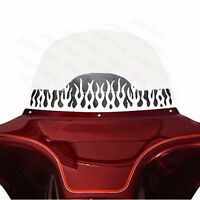 Cool Chrome Slotted WINDSHIELD TRIM FOR HARLEY TOURING BAGGER BATWING MOTORCYCLE