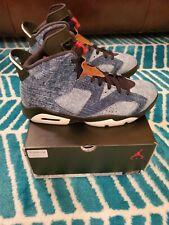 Nike Air Jordan 6 Washed Denim 2019 Size 10 CT5350 401 Original Box