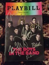 Jim Parsons And Complete Cast Signed Boys In The Band June 2018 Pride Playbill