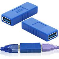 USB 3.0 Typ A Buchse auf Buchse Adapter Kupplung Gender Changer Verbinder 1 A9Q8