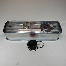 New Polished Finish Alloy Valve Cover  MGA MGB 1955-80 W Cap  K42