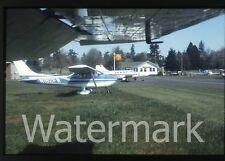 1980s 35mm photo slide Cessna skylane airplane N182FW