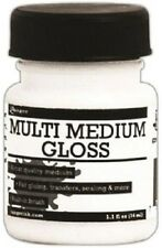 RANGER  Multi Medium GLOSS + BRUSH Medium 1.1oz 34ml INK41559