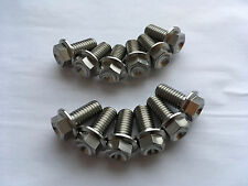 12 Titanium Front Brake Disc Bolts Aprilia RS 250 RS250 1995-2003 2002 2001 2000