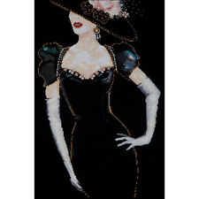 Design Works Cross Stitch Kit - Lady In Black