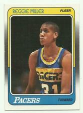 REGGIE MILLER 1988-89 Fleer Rookie RC #57