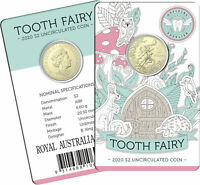 2020 Australia $2 UNC - Tooth Fairy Coin on Card