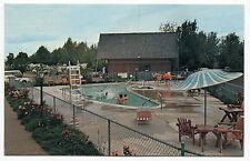"Vintage Camping Ad Postcard: ""Sherwood Forest KOA"" [Creswell, Oregon]"
