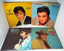 4 ELVIS PRESLEY LP Singer Presents Flaming Star, Our Memories Vol 2, Loving You