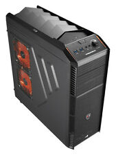 AeroCool X-Predator X1 Black Edition Mid ATX PC Gaming Case 2 x USB3