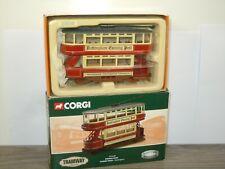Double Deck Closed Tram Nottingham - Corgi Classics CC25205 in Box *43653