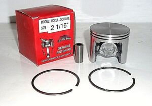 "MCCulloch PRO MAC 850 805 800 SP SUPER PRO 81, 2 16"" PISTON & RINGS, PART# 92519"