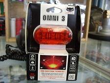 CATEYE OMNI 3--3 LED BICYCLE REAR SAFETY LIGHT