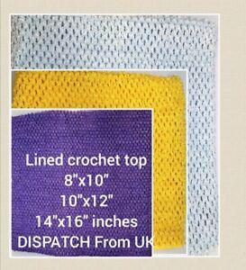Lined Crochet Tube Top Tutu Supplies   Super Stretchy Crochet Band UK Seller
