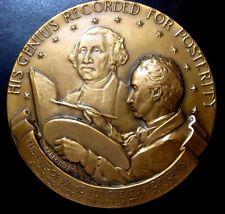 Gilbert Stuart Hall of Fame for Great Americans Medal 76 mm Fraser & Gruppe N117