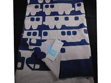 Orla Kiely Target Reversible 100% Cotton Baby Blanket Trains  Reversible New