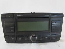 1Z0035161 AUTORADIO SKODA OCTAVIA 2.0 103KW 5P D 6M (2005) RICAMBIO USATO ( NON