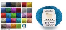 Gazzal Wolle Gazzal Baby Wool XL sehr weich Babywolle 40% Merino 100m / 50g