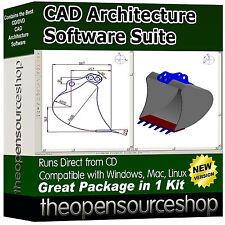 Architettonico Modellazione 3D CAD & DVD Suite-computer Aided Design AL TOP