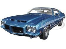 1972 PONTIAC GTO LE MANS LUCERN BLUE LIMITED EDITION 510PC 1/18 BY ACME A1801204