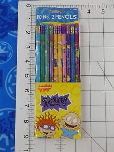 Vintage 10 pc Rugrats 1998 Nickelodeon Sanford No. 2 Pencils