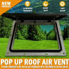 Pop up Roof Air Vent Large Horse Float Trailer Caravan RV Canopy Camper