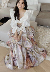 Zimmermann Botanica Frayed Edge skirt- New With Tags- RRP$1,500 AUD