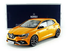 Norev 2017 RENAULT MEGANE IV RS Orange Tonic in 1/18 Scale New In Stock
