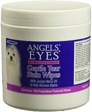 Gentle Tear Stain Wipes, ANGELS' EYES, 100 count 2 pack