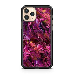 Pretty Luscious Purple Lovely Pink Fine Pattern Covered Cool Phone Case Cover