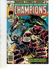 The Champions#13 (Marvel 1977) Ghost Rider,Black Widow,Hercules,Angel,Iceman,VF-