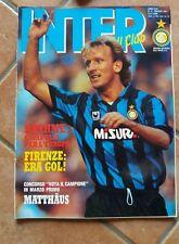 RIVISTA INTER FOOTBALL CLUB N. 5 MAGGIO 1991 FINALE COPPA UEFA