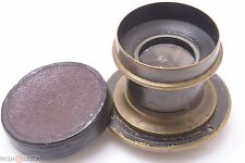 UNMARKED ANTIQUE BRASS, WATERHOUSE SLOT LARGE FORMAT LENS FOR SINAR, CAMBO