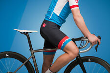 Nouveau Wittson X CASTELLI Custom Men's Cycling bib short KISS Air Siège Pad Noir