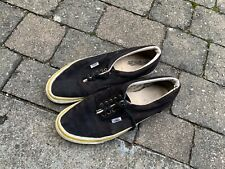 Three pairs of vintage Vans made in Usa skateboard shoes 90s