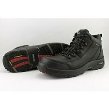 "Reebok Tiahawk 4""  Men US 12 W Black Composite Toe Work Boot Pre Owned  1101"