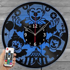 LED Vinyl Clock Pink Floyd Light Vinyl Record Wall Clock Art Home Decor 1545