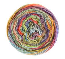 Wolle Kreativ! Lana Grossa - Colorissimo - Fb. 2 blassgelb/orange/weinrot 100 g
