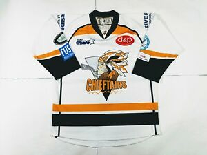 Chieftains Ice Hockey Jersey White size Medium VLD