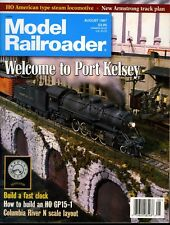 Model Railroader Magazine August 1997 Welcome to Port Kelsey